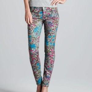 7 for All Mankind Skinny Stretch Denim Jeans